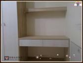 【系統家具】衣櫃結合書桌