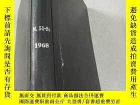 二手書博民逛書店NITROGEN罕見Nos 51-56 1968 氮Y21282