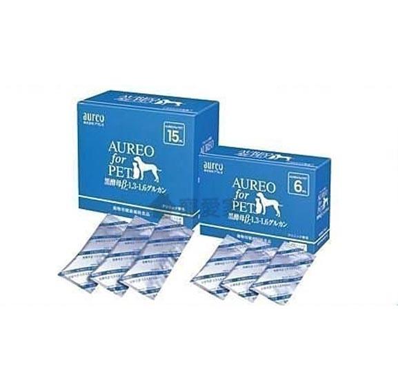 【寵愛家】-免運-日本原裝AUREO健體素15ml一盒,黑酵母+多醣體寵物營養食品