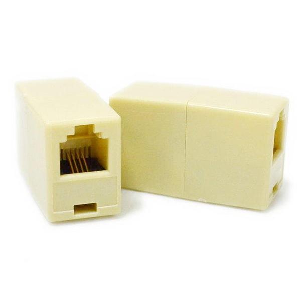【GD289】電話直通頭 母轉雙母接頭 分接器 電話線延長 電話轉接頭 電話分線器 EZGO商城