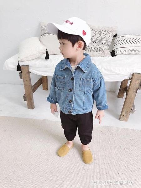 牛仔外套 兒童牛仔外套男童新款韓版秋裝寶寶洋氣牛仔衣男孩休閒上衣潮 童趣潮品
