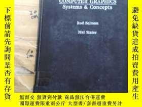 二手書博民逛書店Computer罕見Graphics: Systems & Co