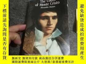 二手書博民逛書店the罕見count of Monte Cristo 基督山伯爵