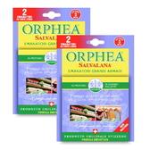 ORPHEA歐菲雅薰衣草香衣物掛耳式樟腦丸替代品義大利進口(1+1組)
