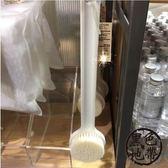 日本MUJI無印良品長柄洗澡刷沐浴刷子搓背刷后背刷搓澡巾神器軟毛【黑色地帶】