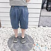 男童五分褲 洋氣中褲休閒短褲