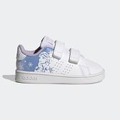 Adidas Advantage I [FZ3221] 小童鞋 運動 休閒 魔鬼氈 冰雪奇緣 保護 舒適 白 水藍