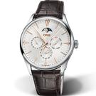 ORIS 豪利時 Artelier系列月相盈虧機械錶 0178177294031-0752165FC