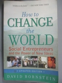【書寶二手書T1/社會_ZJO】How to Change the World_Bornstein, David