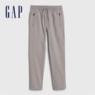 Gap男童彈力舒適鬆緊腰休閒褲540260-灰白色
