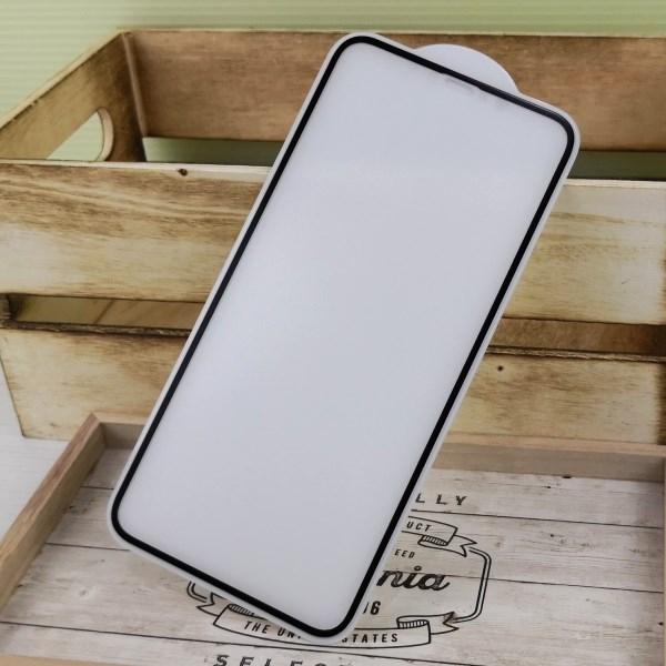 【ACEICE】2.5D霧面磨砂滿版玻璃保護貼 iPhone Xs Max / 11 Pro Max (6.5吋) 黑