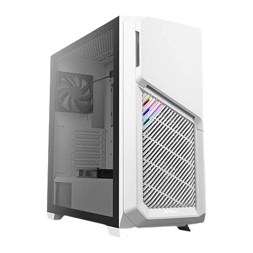 Antec 安鈦克 DP502 FLUX 玻璃透側 靜音版 ATX 電腦機殼 白色 顯卡長40.5cm CPU高17.5cm