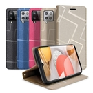 GENTEN for 三星 Samsung Galaxy A42 5G 極簡立方磁力手機皮套