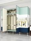 衣櫃 衣柜簡易布衣柜鋼管加厚出租房用簡約...