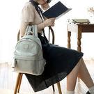 ♚MY COLOR♚流蘇造型雙肩後背包 皮質 高質感 旅行 戶外 韓版 雙拉鍊 多色 學院風 休閒【T19】