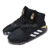 adidas 籃球鞋 Pro Bounce 2019 GCA 黑 白 金 男鞋 運動鞋 【PUMP306】 EF8778