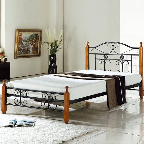 床架 床台 鐵床 CV-172-6 起亞單人鋼木床 (不含床墊) 【大眾家居舘】