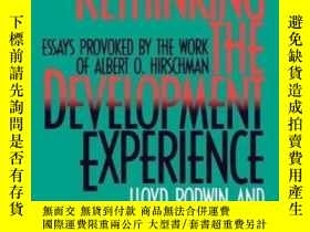二手書博民逛書店Rethinking罕見The Development ExperienceY255562 Lloyd Rod