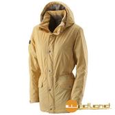 荒野 Wildland 女 PRIMALOFT 防水保暖外套『駱黃色』A22901