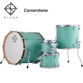 DIXON Cornerstone懸吊式北美楓木爵士鼓組-含支架/踏板/鼓椅/鼓棒/(不含銅拔)加贈DIXON Artisan小鼓