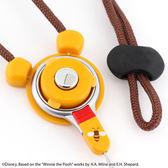 Hamee 自社製品 HandLinker 迪士尼 防摔指環設計 手機吊飾 快拆防失 扣環式吊繩 (小熊維尼) 41-157770