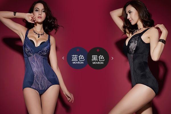 薄款加強型產後束身衣連體四季薄款重壓型收腹衣-mov2015