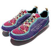 HI-TEC Zuuk W 絲瓜鞋 戶外專用品牌 紫 綠 桃紅 彩色大底 輕量休閒鞋 女鞋【PUMP306】 O002518091