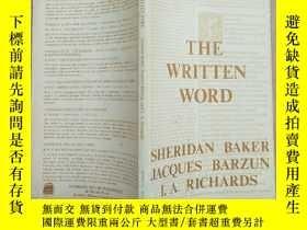 二手書博民逛書店the罕見written word(英文版)Y11026 SHE