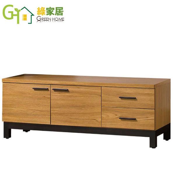 【綠家居】塔西夏 4尺木紋色坐鞋櫃