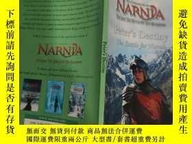二手書博民逛書店peter s罕見destiny the battle for narnia 彼得的命運納尼亞之戰Y20039