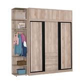 卡西歐復古7.5尺衣櫃(21KHT/704-4)/H&D東稻家居
