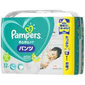 日本 PG Pampers 幫寶適 超薄乾爽 拉拉褲 日本境內 增量版 巧虎 尿布 15kg以上 32片*3包 (XXL) 【4566】