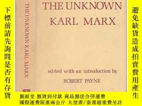 二手書博民逛書店The罕見Unknown Karl Marx: Document