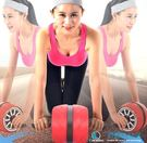 健腹輪腹肌輪回彈巨輪腹部健身器材家用減肚子腹肌收腹瘦腰神器格快速出貨下殺89折
