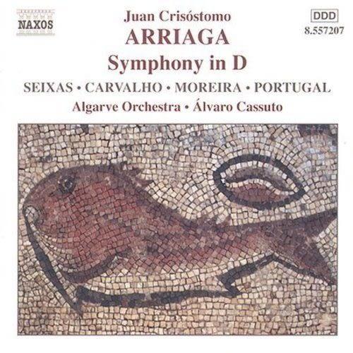 【正版全新CD清倉 4.5折】Arriaga: Symphony in D