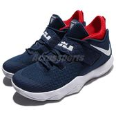 Nike 籃球鞋 Ambassador X 10 藍 紅 美國隊配色 LBJ 大使 23 男鞋【PUMP306】 AH7580-400
