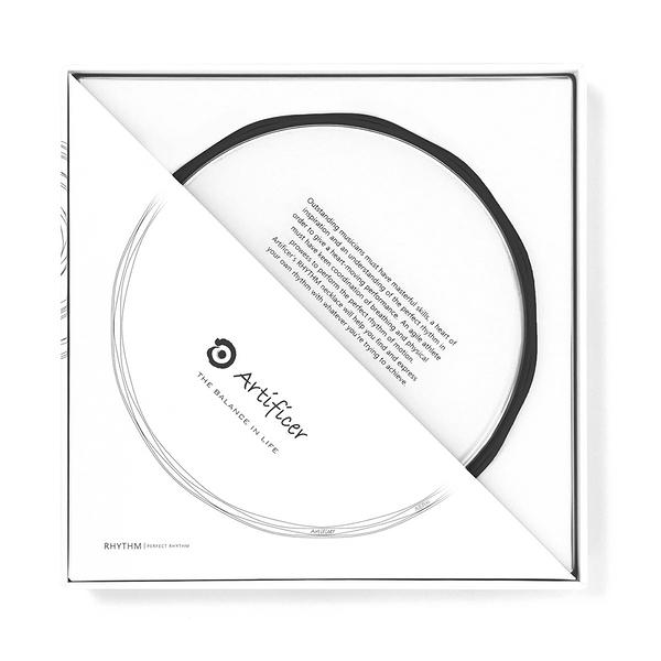 【Artificer】Rhythm 健康運動項鍊 - 黑