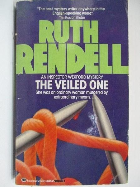 【書寶二手書T1/原文小說_A2Y】The Veiled One_Ruth Rendell
