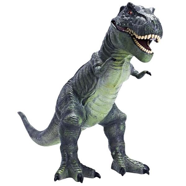 動物玩具 recur恐龍玩具 軟膠超大號霸王龍兒童仿真動物模型塑膠男孩侏羅紀 裝飾界 免運