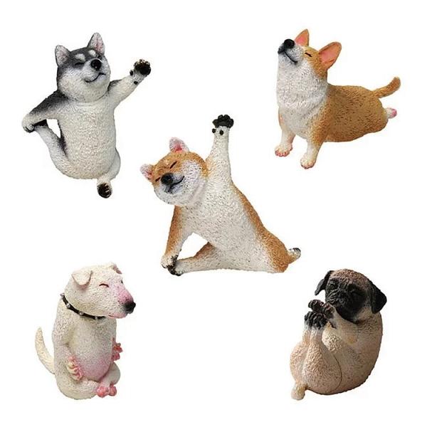 UNION CREATIVE ANIMAL LIFE- Baby Yoga Dog 狗瑜珈寶貝盒玩(5種)