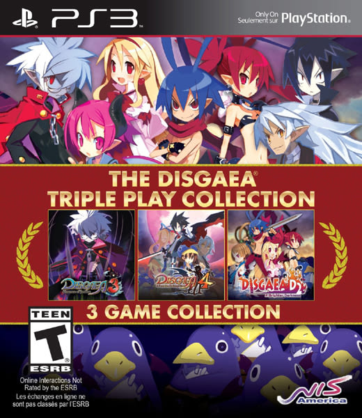 PS3 The Disgaea Triple Play Collection 魔界戰記 合輯(美版代購)