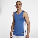 Nike Tank Reversible 男裝 上衣 背心 籃球 雙面穿 藍 白 【運動世界】 867766-494