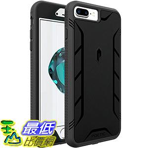 [美國直購] POETIC B01GUBDWRK 黑色 iPhone 7 Plus Case[REVOLUTION Series]手機殼 保護殼