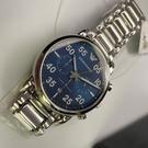 星晴錶業-ARMANI阿曼尼男女通用錶,編號AR00002,42mm銀錶殼,銀色錶帶款