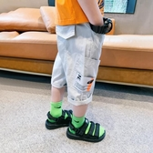 童裝男童褲子夏裝兒童短褲休閒褲中大童五分褲夏季2020新款潮 FX5322 【MG大尺碼】