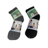毛巾底1/2運動襪  4入裝 (22~26cm)【愛買】