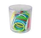 《享亮商城》Q09710 塑膠彩色卡片環 1-1/4吋-50入  力大