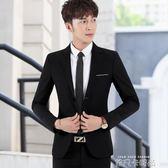 男士西裝修身韓版休閒西服男套裝商務結婚正裝外套學生潮流小西裝 依凡卡時尚
