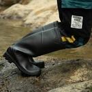 雨鞋高筒男士雨靴時尚男釣魚成人男款高防水中筒套鞋勞保膠鞋水鞋 小山好物