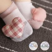 布藝玩偶嬰兒止滑短襪 2雙組 童襪 嬰兒襪 止滑襪
